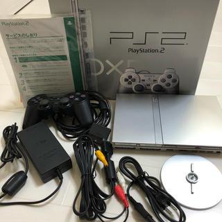 プレイステーション2(PlayStation2)のPS2 本体 シルバー(家庭用ゲーム本体)