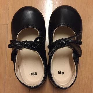 ムジルシリョウヒン(MUJI (無印良品))の【無印良品】キッズ フォーマル 靴 15cm ガール 女の子(フォーマルシューズ)