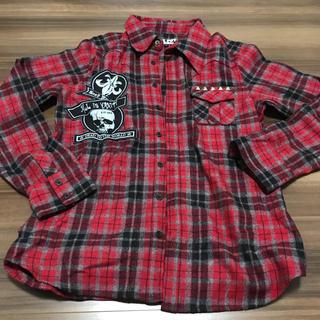 セックスポット(SEXPOT)のused♡SEXPOT チェックシャツ アウターL(シャツ)