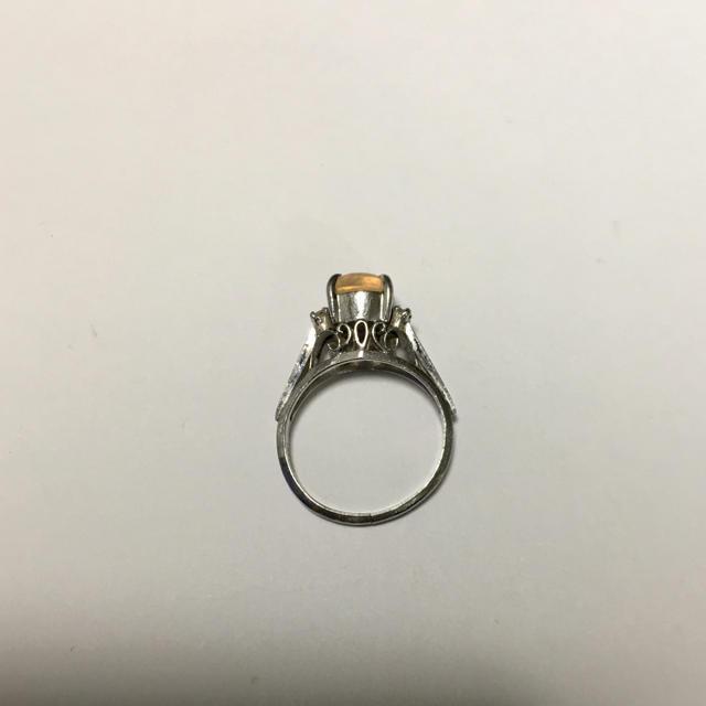 PT900  オパール指輪 プラチナリング たてづめ 7号.説明文読んでください レディースのアクセサリー(リング(指輪))の商品写真