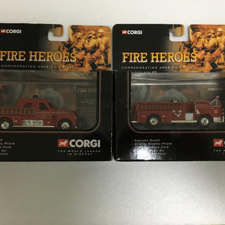 コーギ(CORGI)のコーギー corgi 消防車 5台セット ミニカー(ミニカー)