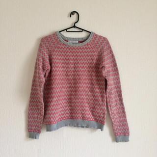エボニーアイボリー(Ebonyivory)のフリーサイズ 毛混セーター(ニット/セーター)