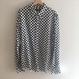 【山下 渚様専用】AMIRI/アミリ チェック ダメージ 長袖/シャツ (シャツ)