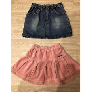 ディズニー(Disney)の90cm♡スカート2枚セット(スカート)