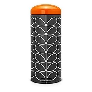 オーラカイリー(Orla Kiely)のゴミ箱 30L オシャレ 蓋付き チャコール オーラカイリー ブラバンシア 新品(ごみ箱)