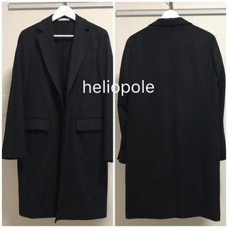 週末限定値引き!heliopole エリオポール カシミア混チェスターコート