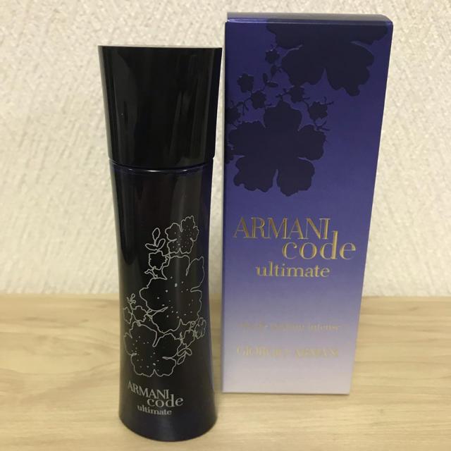 Armani(アルマーニ)のアルマーニコードファムアルティメイト コスメ/美容の香水(香水(男性用))の商品写真