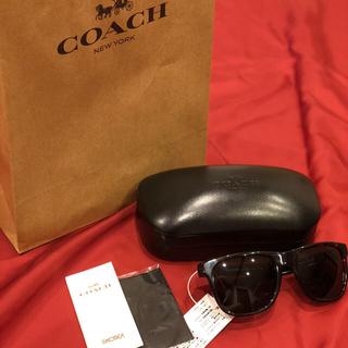 コーチ(COACH)のcoach サングラス 新品未使用(サングラス/メガネ)