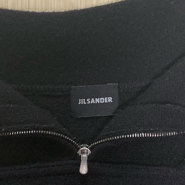 Jil Sander(ジルサンダー)のJILSANDER ジルサンダー ジップニット メンズのトップス(ニット/セーター)の商品写真