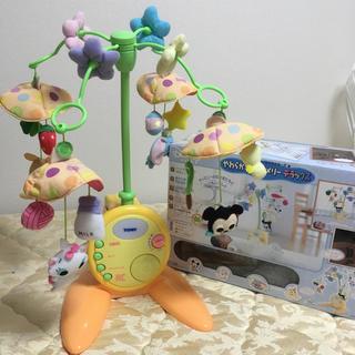 ディズニー(Disney)のやわらかガラガラメリーデラックス ディズニー 出産準備 赤ちゃん本舗(オルゴールメリー/モービル)