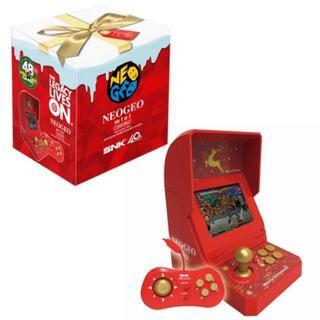 ネオジオ(NEOGEO)のネオジオミニ クリスマス限定 新品(家庭用ゲーム本体)