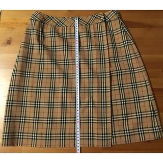 バーバリー(BURBERRY)のBurberrys バーバリー  ブルーレーベル スカート(ひざ丈スカート)