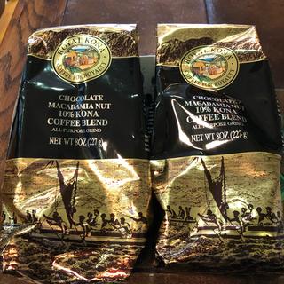 コナ(Kona)のコナコーヒー 粉状 一袋227グラム入り(コーヒー)