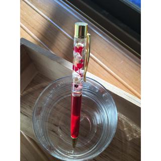 ハーバリウムボールペン紅白(その他)