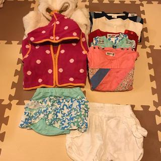 ベビーギャップ(babyGAP)のベビー服 女の子 70 セット 全てブランド品(ロンパース)