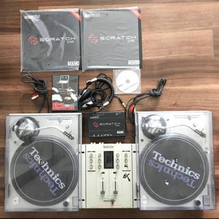 パナソニック(Panasonic)のテクニクス technics DJセット一式 ターンテーブル ミキサー等(ターンテーブル)