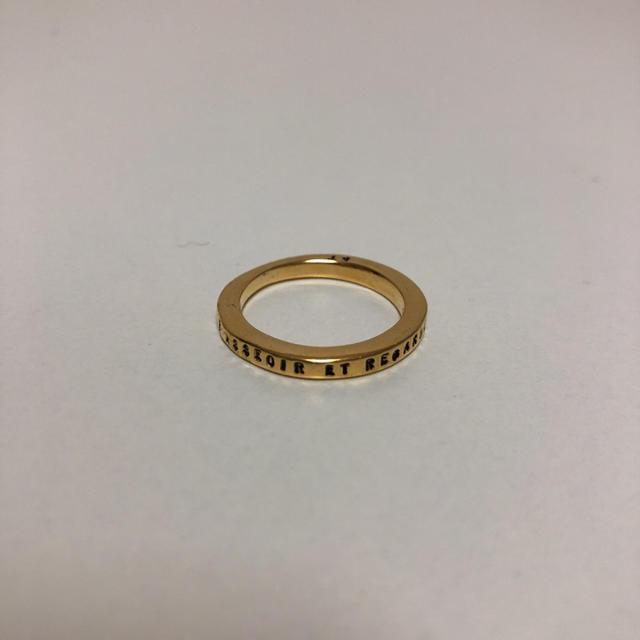 H.P.FRANCE(アッシュペーフランス)のアシュペーフランス 指輪 ゴールド リング 5.5号 メンズのアクセサリー(リング(指輪))の商品写真