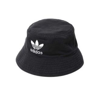 アディダス(adidas)の☆adidas originals☆【ブラック】コットン バケット ハット(ハット)