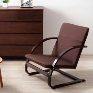 クッション 座椅子 チェア ソファ(ロッキングチェア)