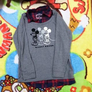 ディズニー(Disney)の重ね着風長袖Tシャツ(Tシャツ(長袖/七分))