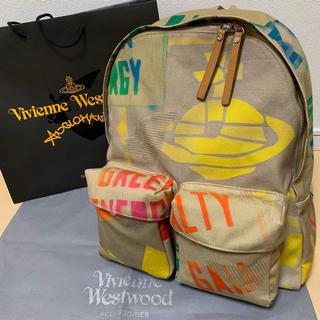 ヴィヴィアンウエストウッド(Vivienne Westwood)のVivienne Westwood リュック バックパック マニュフェスト(バッグパック/リュック)