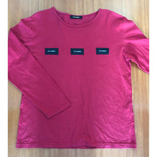 UP  renoma Lサイズ 長袖Tシャツ(Tシャツ/カットソー(七分/長袖))