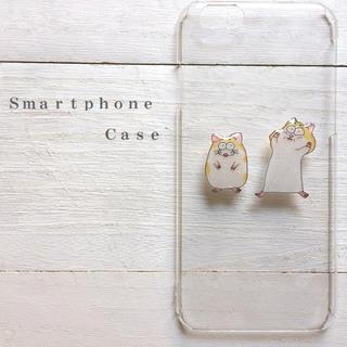 ハムスター  スマホケース  iPhone8  全機種対応(スマホケース)