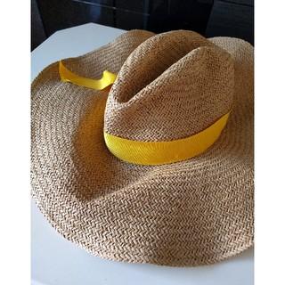 c0cd531a166 ドゥーズィエムクラス(DEUXIEME CLASSE)のローラハット麦わら帽子Lola HATS GuM Wad イエロー