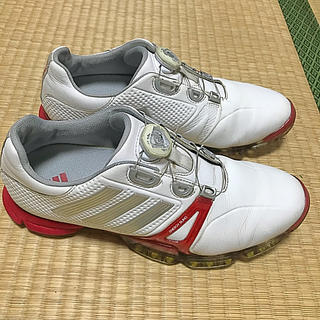 アディダス(adidas)のアディダス ゴルフ シューズ ボア(シューズ)