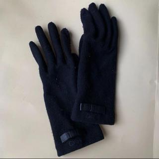 クロエ(Chloe)のクロエChloe手袋ブラック(手袋)