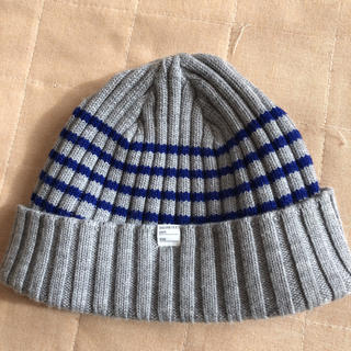 デラックス(DELUXE)のニット帽(ニット帽/ビーニー)