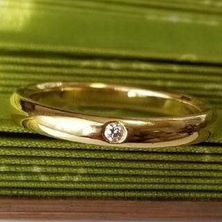 ティファニー(Tiffany & Co.)のティファニー エルサ・ペレッティ 1Pダイヤ スタッキングバンドリング  #11(リング(指輪))