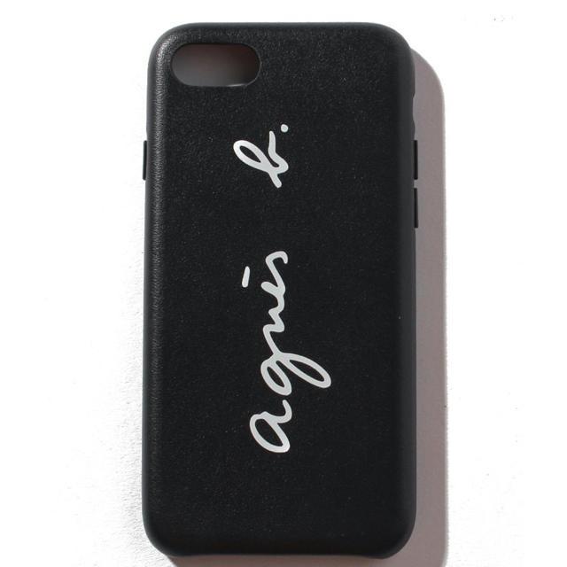 agnes b. - 新品 完売品 アニエスベー agnesb  スマホ iPhoneケース 黒の通販 by ☺︎ love room ☺︎|アニエスベーならラクマ