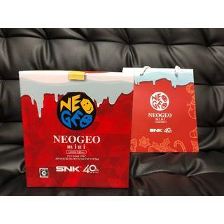ネオジオ(NEOGEO)のNEOGEO mini Christmas Limited Edition(家庭用ゲーム本体)