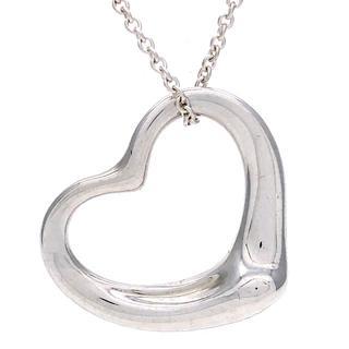 ティファニー(Tiffany & Co.)のティファニー エルサペレッティ オープンハート ミディアム ネックレス(ネックレス)