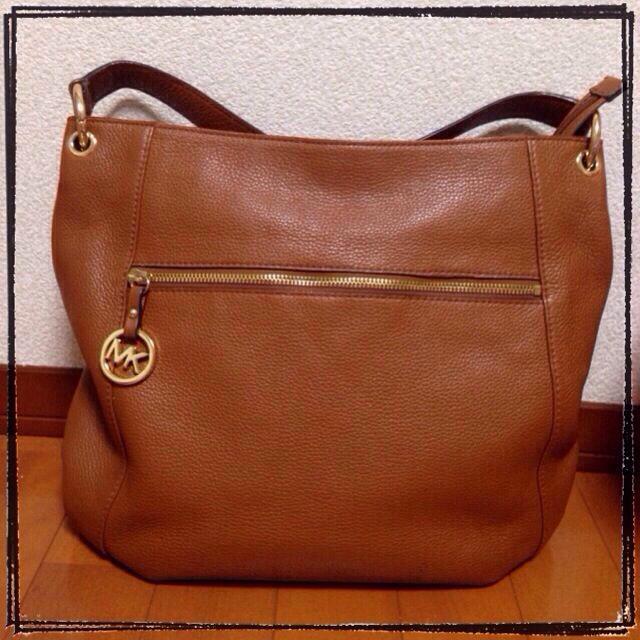Michael Kors(マイケルコース)のマイケルコース♡ブラウンショルダーバッグ レディースのバッグ(トートバッグ)の商品写真