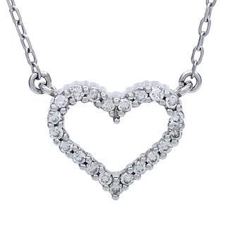 ヴァンドームアオヤマ(Vendome Aoyama)のヴァンドームアオヤマ ハートモチーフ ダイヤモンド ネックレス(ネックレス)