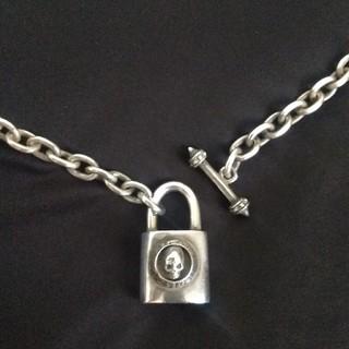 ディールデザイン(DEAL DESIGN)のディールデザイン スカルパドロックネックレス dealdesign(ネックレス)