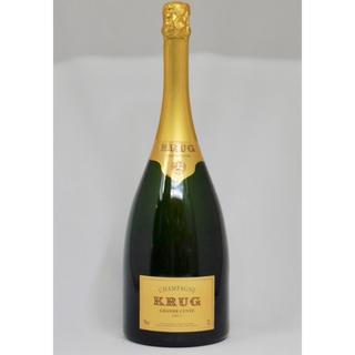 クリュッグ(Krug)の断捨離中様専用【正規品マグナム】Krug Grande Cuvée Mugnum(シャンパン/スパークリングワイン)