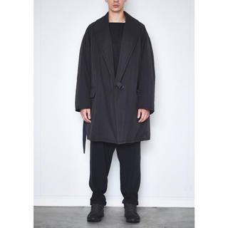 コモリ(COMOLI)の新品 COMOLI  中綿 ショールカラー コート コモリ  タイロッケンコート(ナイロンジャケット)