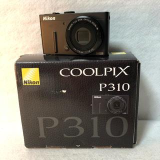 ニコン(Nikon)の【付属品完備】Nikon デジタルカメラ COOLPIX P310(コンパクトデジタルカメラ)