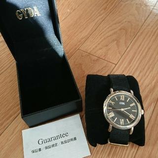 ジェイダ(GYDA)のジェイダ腕時計ブラック(腕時計)