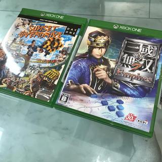 エックスボックス(Xbox)のXbox One 2つセット 三國無双7 sunset over drive(家庭用ゲームソフト)