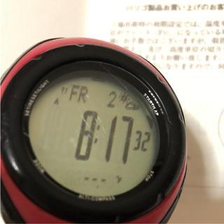 バリゴ(BARIGO)のバリゴ  時計 ピンク コロンビア モンベル  ノースフェイス マムート MSR(腕時計(デジタル))