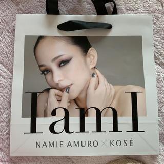 コーセー(KOSE)の安室奈美恵 天神限定 ショップ袋 ショッパー(ショップ袋)
