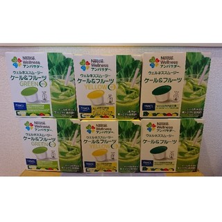ネスレ(Nestle)のネスレ  ウエルネススムージー  6箱セット(茶)