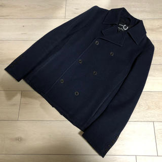 RAF SIMONS × FRED PERRY ラフシモンズ  ウールPコート