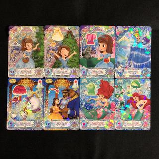 ディズニー(Disney)の最新弾 8枚 ディズニー マジックキャッスル クリスタルシーズン まとめ売り (その他)
