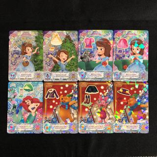 ディズニー(Disney)の最新弾 8枚 ディズニー マジックキャッスル クリスタルシーズン まとめ売り ②(その他)