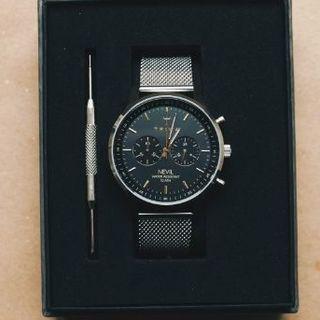 トリワ(TRIWA)の【新品・未使用】TRIWA SMOKY NEVIL - STEEL MESH(腕時計(アナログ))